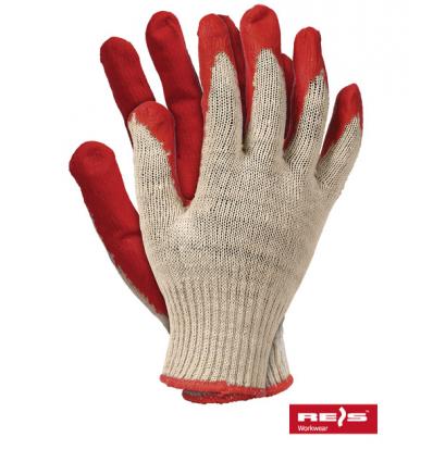 Rękawice ochronne wampirki czerwone