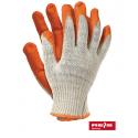 Rękawice ochronne wampirki pomarańczowe
