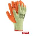 Rękawice ochronne pomarańczowe
