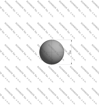 KULKA 7.144 mm. KG